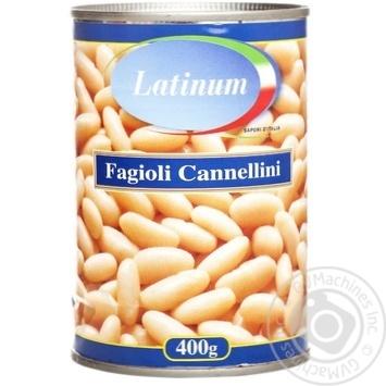 Фасоль Latinum Fagioli Cannellini 400г - купить, цены на Novus - фото 1