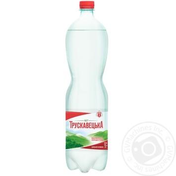 Минеральная вода Трускавецкая сильногазированная 1,5л - купить, цены на Novus - фото 1