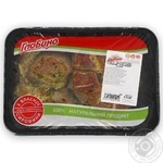 Globino In Marinade From Pork Neck Steak