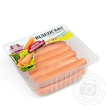 Baschinskyi vidensʹki chilled sausages 300g