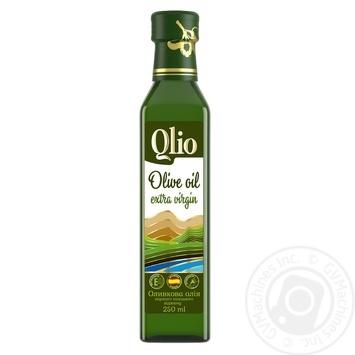 Масло оливковое Qlio первого холодного отжима 250мл