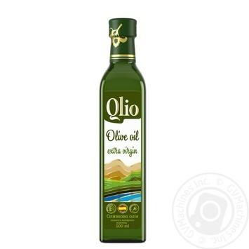 Масло оливковое Qlio первого холодного отжима 500мл