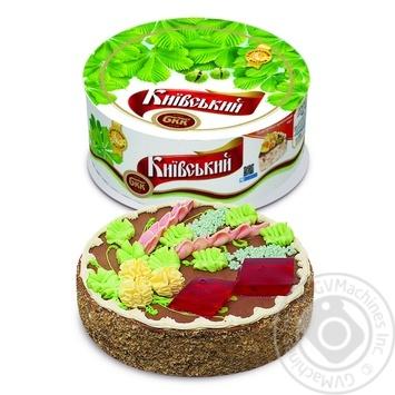 Торт БКК Київський Дарунок з арахісом 450г
