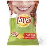 Чипсы Lay's картофельные со вкусом белых грибов со сметаной 71г