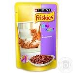 Корм Friskies С ягненком в подливке для котят 100г