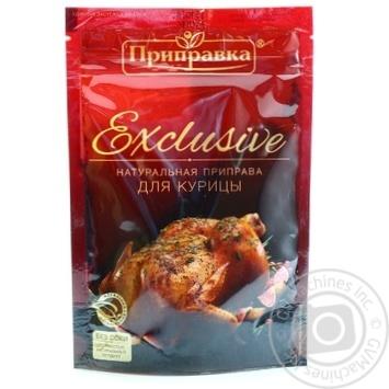 Приправа для курицы Эксклюзив Приправка 50г - купить, цены на Novus - фото 1