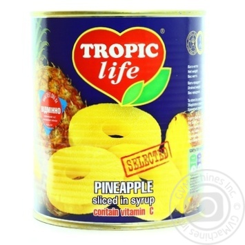 Fruit pineapple Tropic life ring 850ml can - buy, prices for Novus - image 1