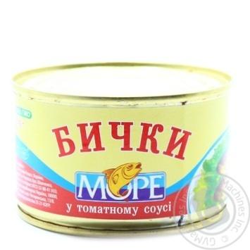 Бычки Море в томатном соусе 230г - купить, цены на Novus - фото 2