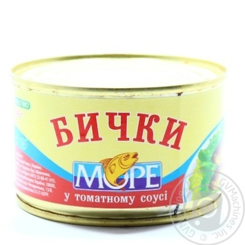 Бычки Море в томатном соусе 230г - купить, цены на Novus - фото 3