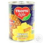 Tropic Life In Syrop Pineapple Pieces 580ml - buy, prices for Novus - image 1