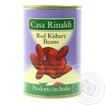 Фасоль красная Casa Rinaldi 400г - купить, цены на Novus - фото 1