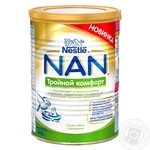 Nestle Nan comfort 3 for babies from birth dry milk mixture 400g