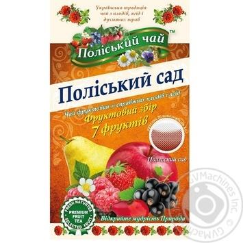 Чай Поліський чай Полесский сад фруктово-ягодный в пакетиках 2г*20шт - купить, цены на Novus - фото 3