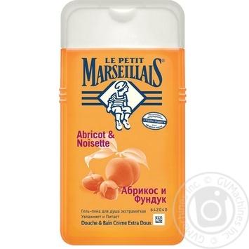 Gel Le petit marseillais with hazelnuts for shower 250ml