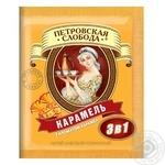 Напиток кофейный Петровская Слобода 3в1 с ароматом карамели в стиках 18г