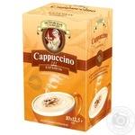 Напиток кофейный Петровская Слобода Cappuccino 3в1 с ароматом карамели 10шт * 12.5г