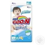 Goo.N L Diapers 9-14 kgs 54 pcs