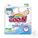 Goo.N Diapers for babies less 4-8 kgs S size velcro tie unisex 84 pcs