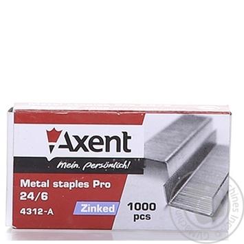 Axent PRO 24/6 Staples Refills 1000pcs - buy, prices for Metro - image 1