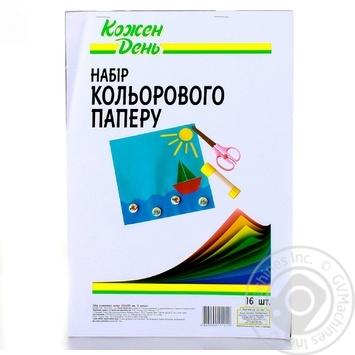 Kozhen Den Colored Paper 16 Sheets