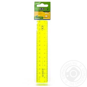 Лінійка Zibi пластикова 15см - купити, ціни на CітіМаркет - фото 7
