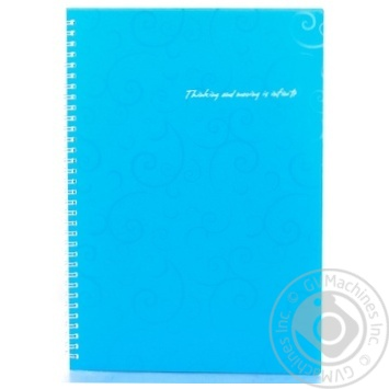 Notebook Buromax checkered 80pages - buy, prices for Novus - image 1
