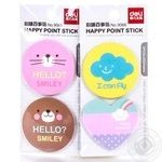 Deli Happy point Stickers 2*30pcs