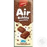 Шоколад молочний Пористий Любімов 65г