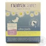 Прокладки Natracare гигиенические 10шт