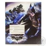 Зошит шкільний Cool for school Batman 12 аркушів у клітинку BN07230