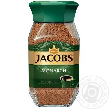 Кофе Jacobs Монарх растворимый 190г