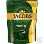 Jacobs Monarch instant coffee 250g - buy, prices for MegaMarket - image 1