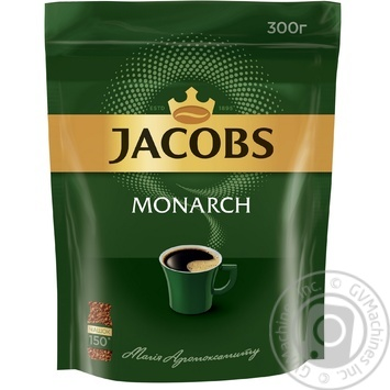 Jacobs Monarch Instant Coffee 300g - buy, prices for MegaMarket - image 1