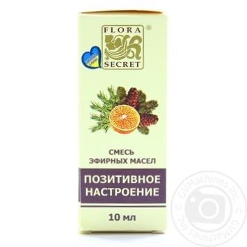 Суміш ефірних олій Позитивний настрій Flora Secret 10мл