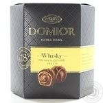 Candy Avk Domior chocolate with filling 225g packaged