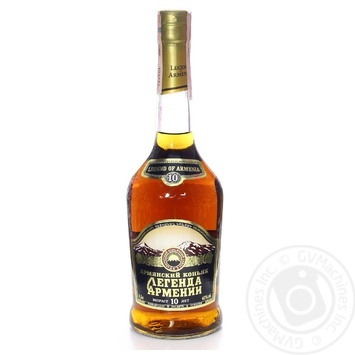 Lehenda Armenii 10 yrs cognac 40% 0,5l - buy, prices for Novus - image 1