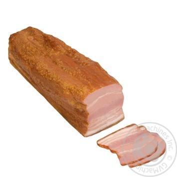 Грудинка свиная Ходоровский МК варено-копченая
