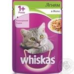 Корм для взрослых котов Whiskas с ягненком в желе 100г - купить, цены на Фуршет - фото 4