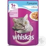 Whiskas With Tuna Fish In Jelly For Cats Food - buy, prices for Furshet - image 3