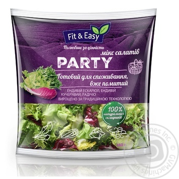 Микс салата Fit&Easy Party 180г