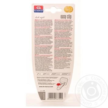 Ароматизатор воздуха Dr. Marcus easy clip для авто - купить, цены на Novus - фото 2