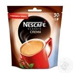 Кофе Nescafe Classic Crema растворимый 30г