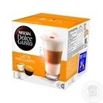 Напій кавовий Nescafe Dolce Gusto Лате Мак'ято в капсулах 16шт 194.4г