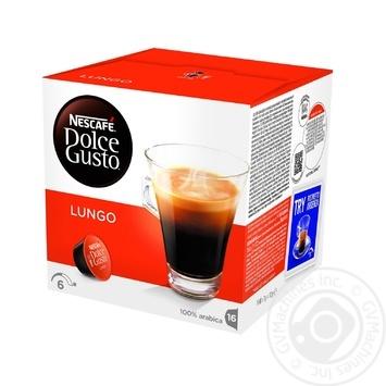 Кофе Nescafe Dolce Gusto Кафе Лунго в капсулах 16*7г
