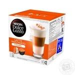 Напиток кофейный Nescafe Dolce Gusto Латте Макиато Карамель в капсулах 16шт 168.8г
