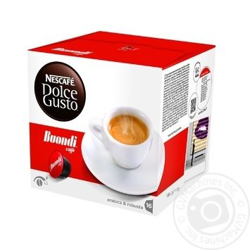 Кофе Nescafe Dolce Gusto Buondi 112г