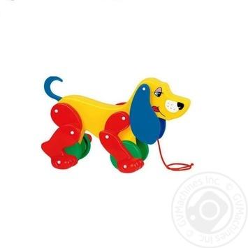 Іграшка механічна Собака-каталка Бобі Полісся