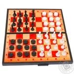 Шахи 2в1 шашки,шахи Maximus