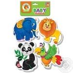 Пазлы Vladi Toys игра зоопарк