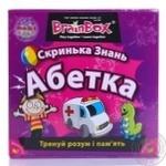 Скринька Знань Абетка BrainBox 98320